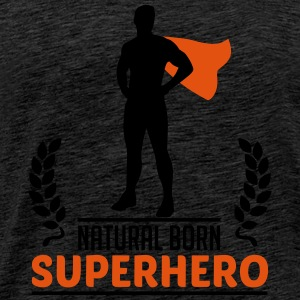 Natural Born Superhero Tops - Männer Premium T-Shirt