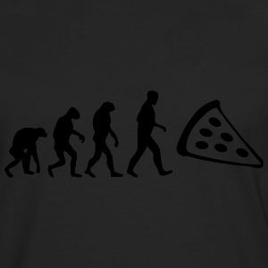 pizza evolution T-Shirts - Männer Premium Langarmshirt