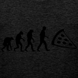 pizza evolution T-Shirts - Männer Premium Tank Top