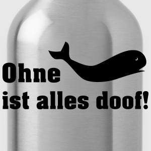 ohne wal T-Shirts - Trinkflasche
