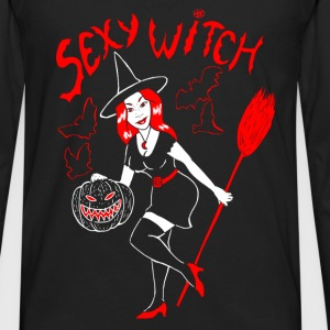 Sexy Witch - T-shirt manches longues Premium Homme