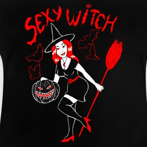 sexy witch nb Tee shirts - T-shirt Bébé