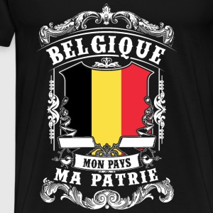 Belgique - Belgium - Belgium Tops - Men's Premium T-Shirt