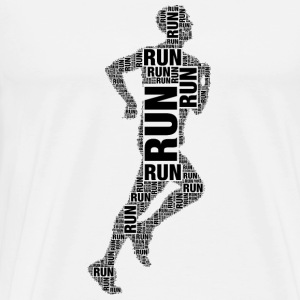 runner running Sports wear - Men's Premium T-Shirt