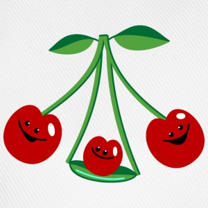 Three cherries Top - Cappello con visiera