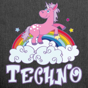 techno T-Shirts - Schultertasche aus Recycling-Material