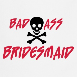 White Bad Ass Bridesmaid Jumpers  - Cooking Apron