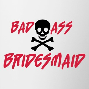 White Bad Ass Bridesmaid Jumpers  - Mug