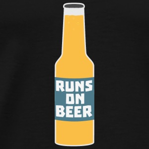 Runs on beer bottle Scy3l Baby Long Sleeve Shirts - Men's Premium T-Shirt