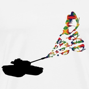 Tank butterflies sweaters & hoodies - Men's Premium T-Shirt