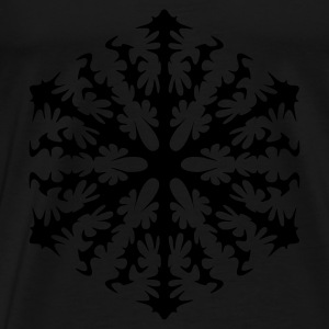 Snowflake sweater & hoodies - Men's Premium T-Shirt