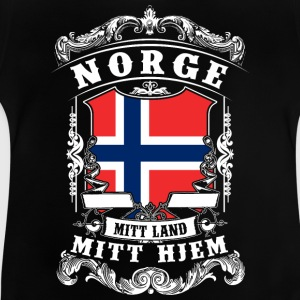 Norge - Norge - Norge Skjorter - Baby-T-skjorte