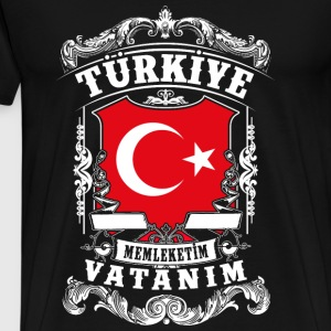 Türkiye-Turkey - Turkey Long Sleeve Shirts - Men's Premium T-Shirt