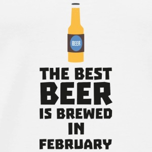 Best beer is brewed in February. S4i8g Baby Long Sleeve Shirts - Men's Premium T-Shirt