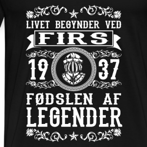1937 - 80 år - Legender - 2017 - DK Baby Long Sleeve Shirts - Men's Premium T-Shirt