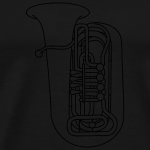 TUBA brass Bags & Backpacks - Men's Premium T-Shirt