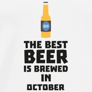 In October, best beer is brewed. S5k5z Baby Long Sleeve Shirts - Men's Premium T-Shirt