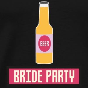 Bridal party beer bottle S6542 Baby Long Sleeve Shirts - Men's Premium T-Shirt