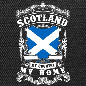 Scotland - My country - My home Langarmshirts - Snapback Cap