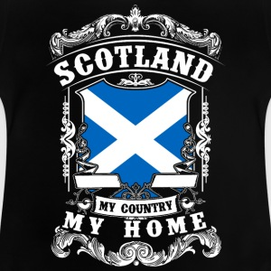 Scotland - My country - My home Langarmshirts - Baby T-Shirt