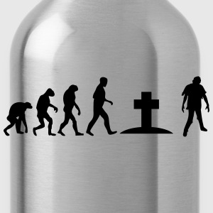 zombi evolution T-Shirts - Trinkflasche