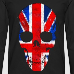 British skull Tee shirts - T-shirt manches longues Premium Homme