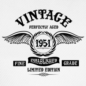 Vintage Perfectly Aged 1951 T-Shirts - Baseball Cap
