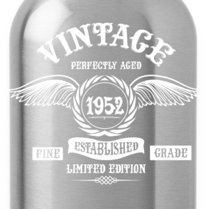 Vintage Perfectly Aged 1952 T-Shirts - Water Bottle
