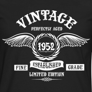 Vintage Perfectly Aged 1952 T-Shirts - Men's Premium Longsleeve Shirt