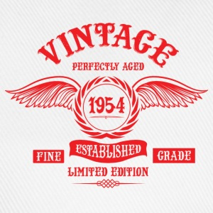 Vintage Perfectly Aged 1954 T-Shirts - Baseball Cap