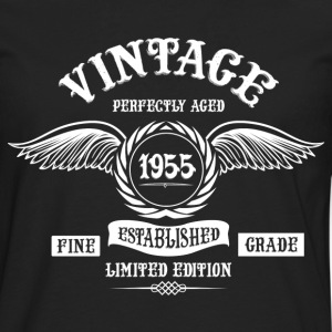 Vintage Perfectly Aged 1955 T-Shirts - Men's Premium Longsleeve Shirt