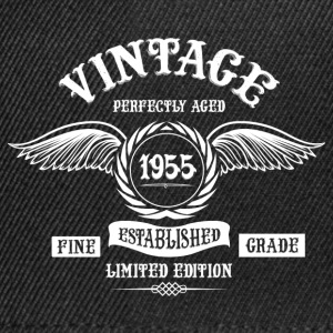 Vintage Perfectly Aged 1955 T-Shirts - Snapback Cap