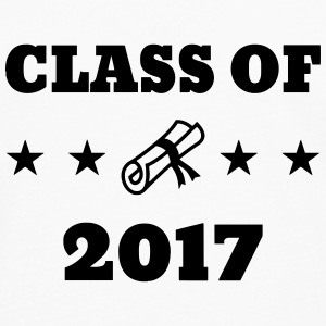 Class of 2017 - School - Schule - Ecole - Student Tee shirts - T-shirt manches longues Premium Homme