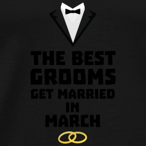 The best groom in the März Sk111 Baby Long Sleeve Shirts - Men's Premium T-Shirt