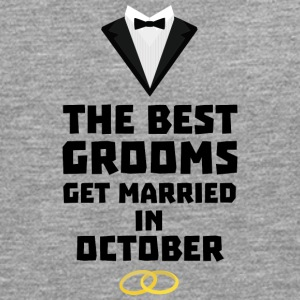 The best groom in October Stf13 T-Shirts - Men's Premium Longsleeve Shirt