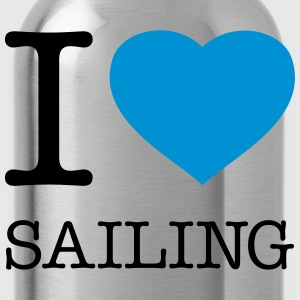 I LOVE SAILING - Water Bottle