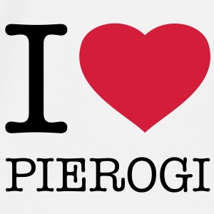 I LOVE PIEROGI - Men's Premium T-Shirt
