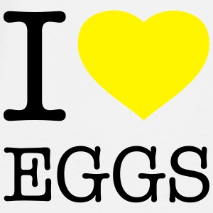 I LOVE EGGS - Men's Premium T-Shirt