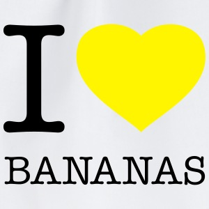 I LOVE BANANAS - Gymtas