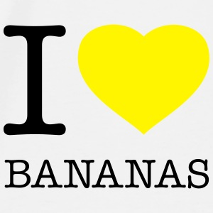 I LOVE BANANAS - Men's Premium T-Shirt