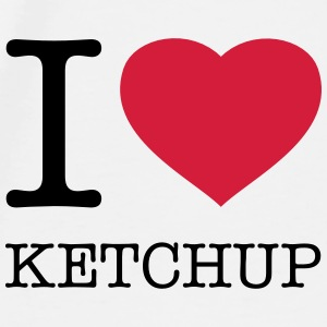 I LOVE KETCHUP - Men's Premium T-Shirt