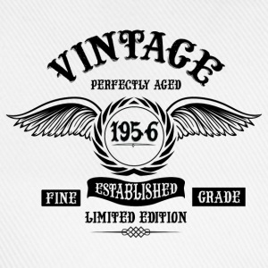 Vintage Perfectly Aged 1956 T-Shirts - Baseball Cap