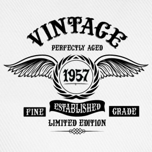 Vintage Perfectly Aged 1957 T-Shirts - Baseball Cap