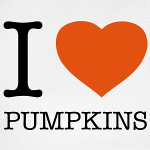 I LOVE PUMPKINS - Baseball Cap