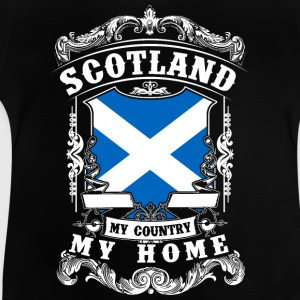 Scotland - My country - My home Magliette - Maglietta per neonato