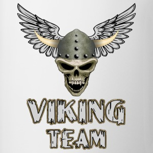Blanc viking team T-shirts - Tasse