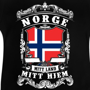 Norge - Norge - Norge T-shirts - Baby T-shirt