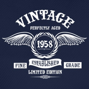 Vintage Perfectly Aged 1958 T-Shirts - Baseball Cap