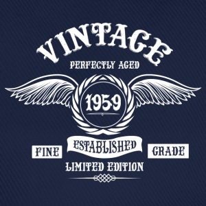 Vintage Perfectly Aged 1959 T-Shirts - Baseball Cap