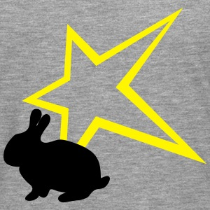 Freaky lapin star T-Shirts - T-shirt manches longues Premium Homme